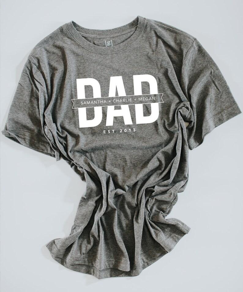 professionnel guetter meilleur prix pour Tee Shirt, T-shirt de papa, papa personnalisé fête des pères chemise,  cadeau papa personnalisé, fête des pères cadeau du jour, fêtes des pères  jour ...