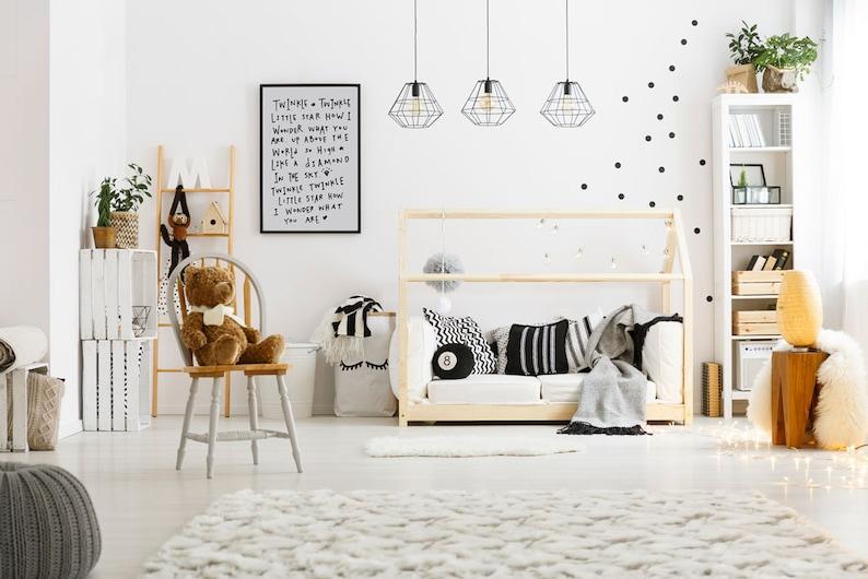 Twinkle Twinkle Little Star Nursery Decor Nursery Wall Art image 0
