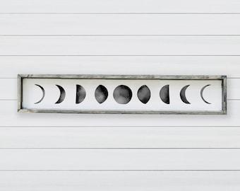 Phases of the Moon | Wood Farmhouse Sign | Farm House | House Warming | Farmhouse Decor | Welcome | Housewarming Gift | Astrological Sign