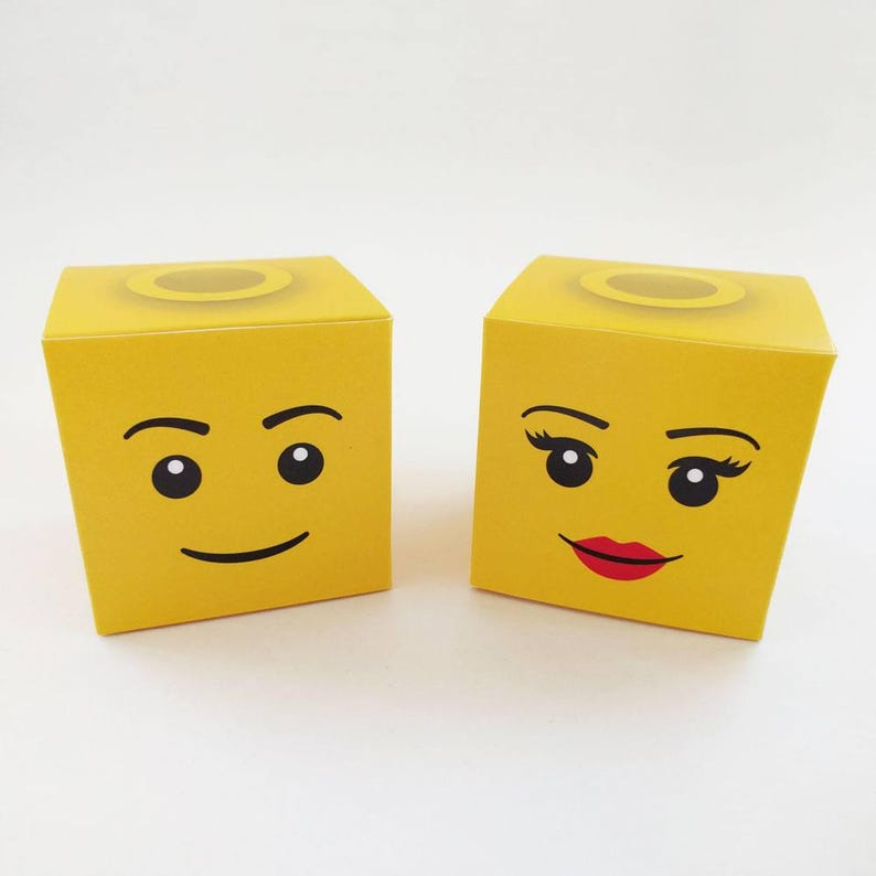 photo regarding Lego Head Printable titled Lego Mind Clic Take care of Box - Do it yourself Printable