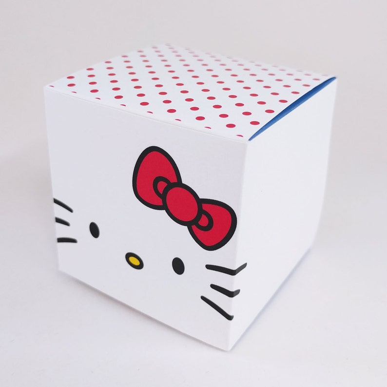 DIY Printable Hello Kitty Treat Box