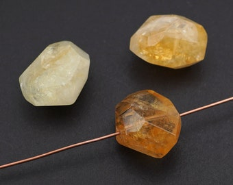 Citrine Opal Picasso Sold by the Half Mass 4mm Czech Fire Polish Beads