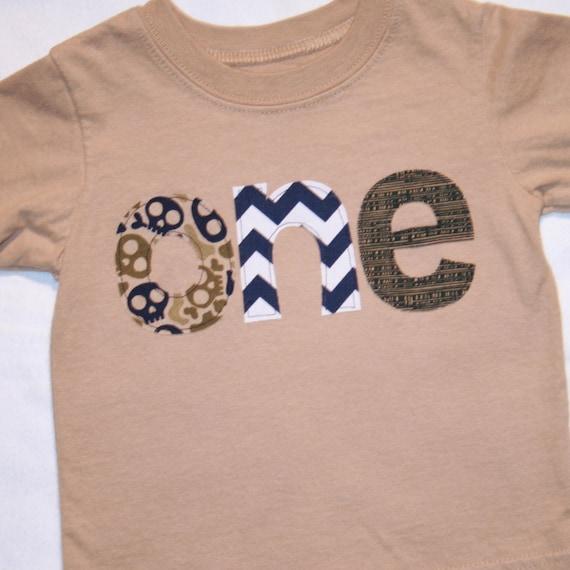 CLEARANCE SALE Boys ONE Shirt 1st Birthday Boy 12 Month
