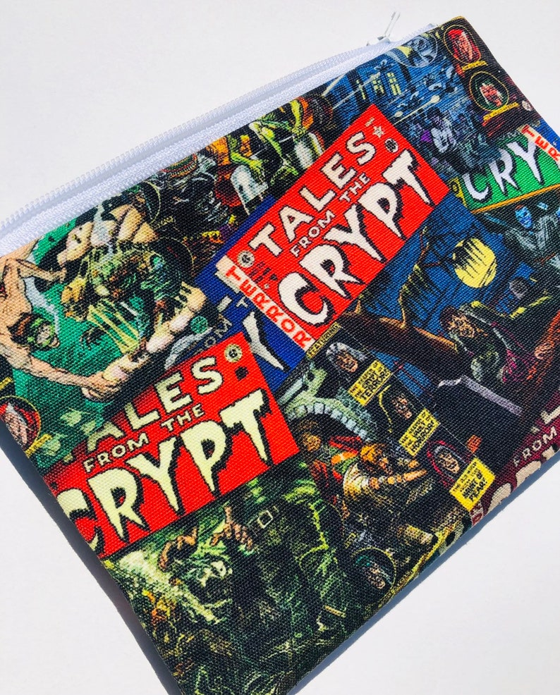 Tales from the Crypt Zipper Pouch: Horror Comic Books The image 0