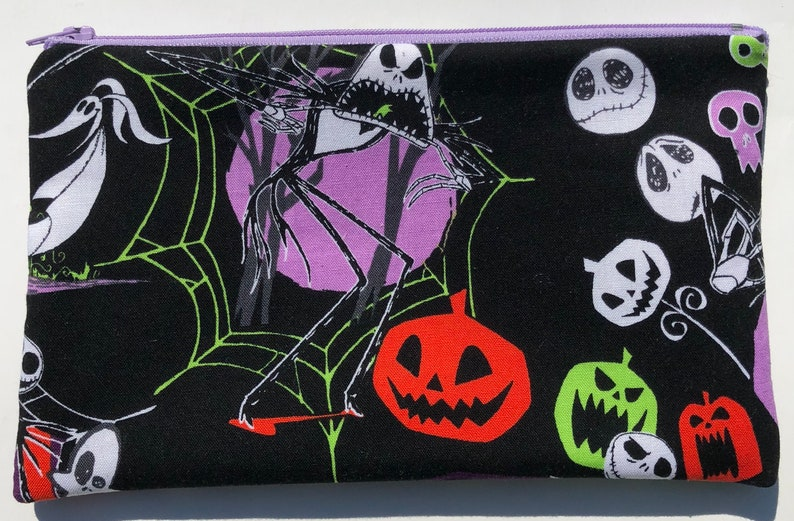 Nightmare Before Christmas Zipper Pouch image 0