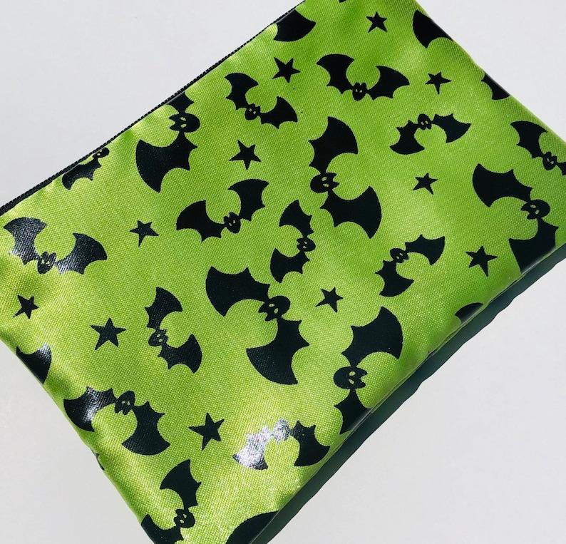 Bats Zipper Pouch: Halloween Nocturnal. image 0