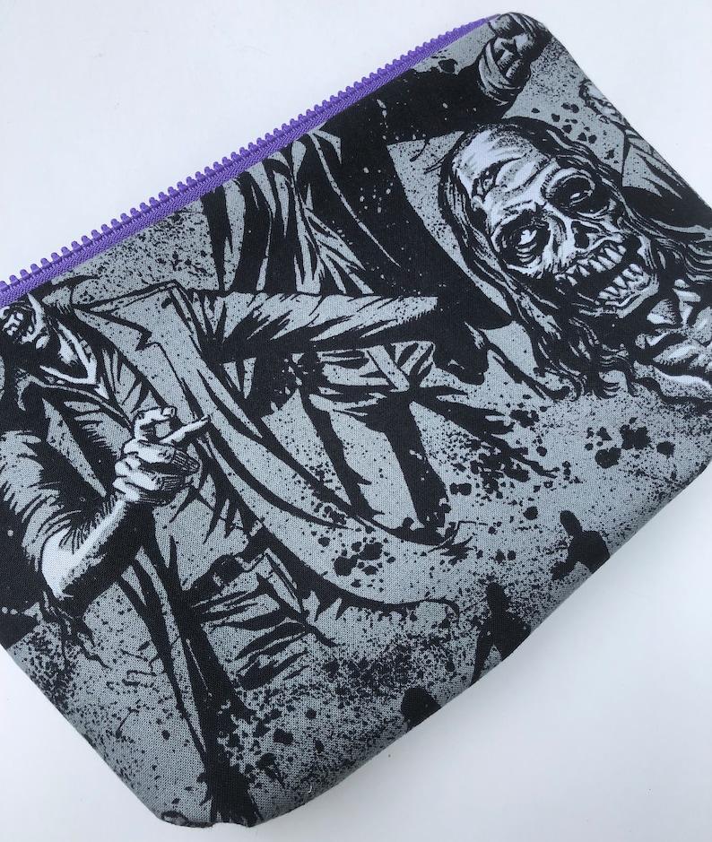 Zombie Apocalypse Large Cosmetic Bag image 0