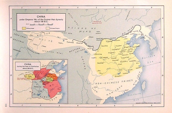 China Under Emperor Wu During the Time of Confucius 1957