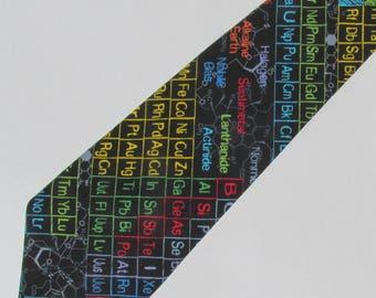 Periodic table tie best table 2018 periodic table necktie science chemistry professor teacher lab urtaz Gallery