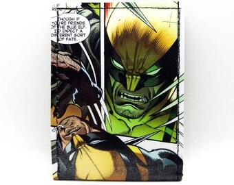 Wolverine Wallet - X-Men Wallet - Comic Book Wallet - Logan
