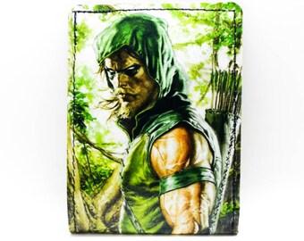 Green Arrow Wallet - Comic Book Wallet - Justice League