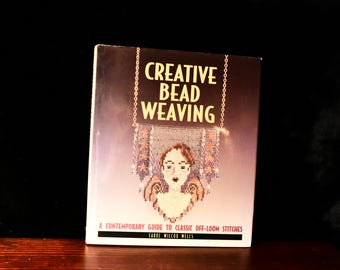 Book beads etsy carol wilcox wells creative bead weaving hardback book fandeluxe Images