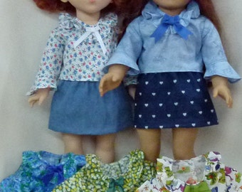 """18"""" doll clothes blouse top"""