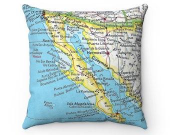 Baja map | Etsy