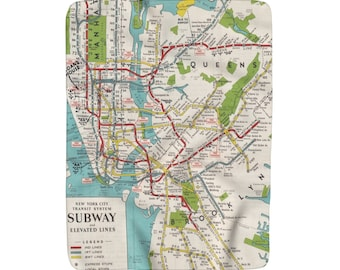 1980 Nyc Subway Map.Nyc Subway Etsy