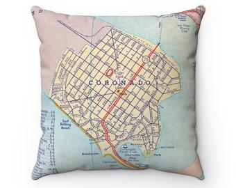 Coronado map   Etsy