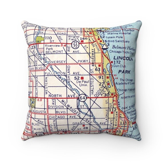 DePaul University Map Pillow - DePaul University Pillow - DePaul University on north park map, charleston southern map, iona map, texas a&m map, u of iowa map, xavier map, auburn university map, fordham map, drexel map, seton hall map, northern illinois map, loyola map, liberty map, lincoln park map, u of miami map, museum park map, u of illinois map, university of illinois at chicago map, quinnipiac map, texas wesleyan map,