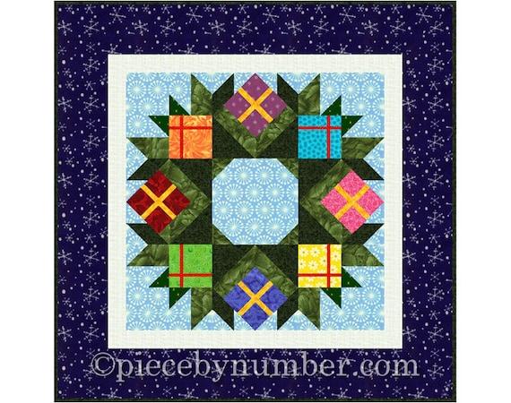Wreath Quilt Pattern Paper Piecing Quilt Pattern Pdf Quilt