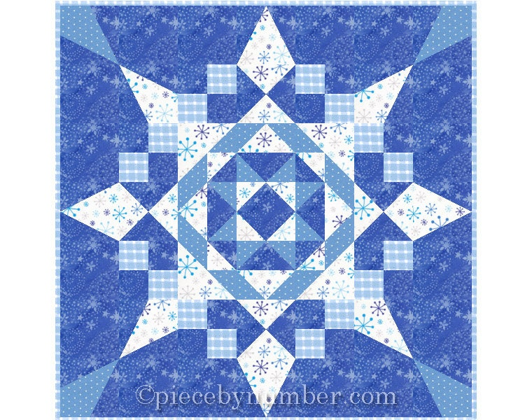 Seven Easy Pieces Quilt Pattern Throw Quilt Pattern Easy