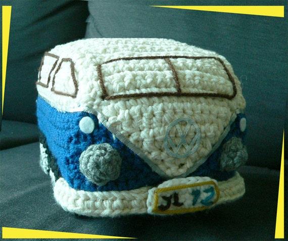 Amigurumi Vw Volkswagen Camper Bus Travel Van Kombi Auto Etsy