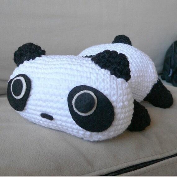 Crochet bear and panda pattern | Amiguroom Toys | 570x570