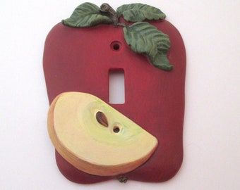Vintage Resin Fruit Light Switch Wall Plate Cover  3D