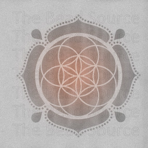 Seed Of Life Stencil Reusable Craft Stencil Sacred Geometry Etsy