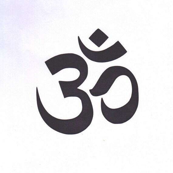 OM Om-Schablone Sanskrit Om Ohm Yoga-Schablone | Etsy