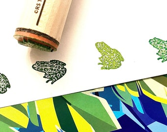 Toad Rubber Stamp