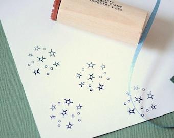 Star Cluster Rubber Stamp