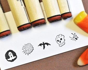 Spooky Sampler Rubber Stamp Set