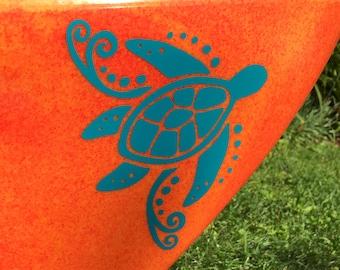 NEW! Sea Turtle, MEDIUM, Kayak Decal
