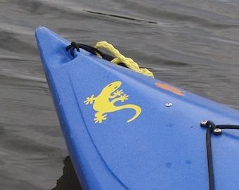Gecko, MEDIUM,  Kayak Decal
