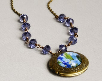 Bliss Photo Locket Necklace by Happy Shack Designs