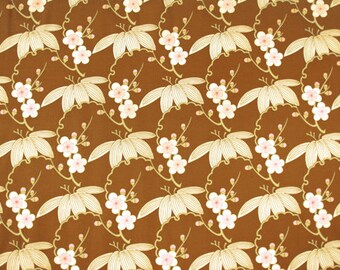 1 YARD Amy Butler Midwest Modern Trailing Cherry in Brown