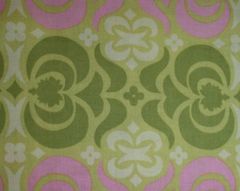Amy Butler Midwest Modern Garden Maze in Sand cotton fabriC