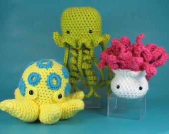 Darling But Deadly - PDF amigurumi crochet pattern
