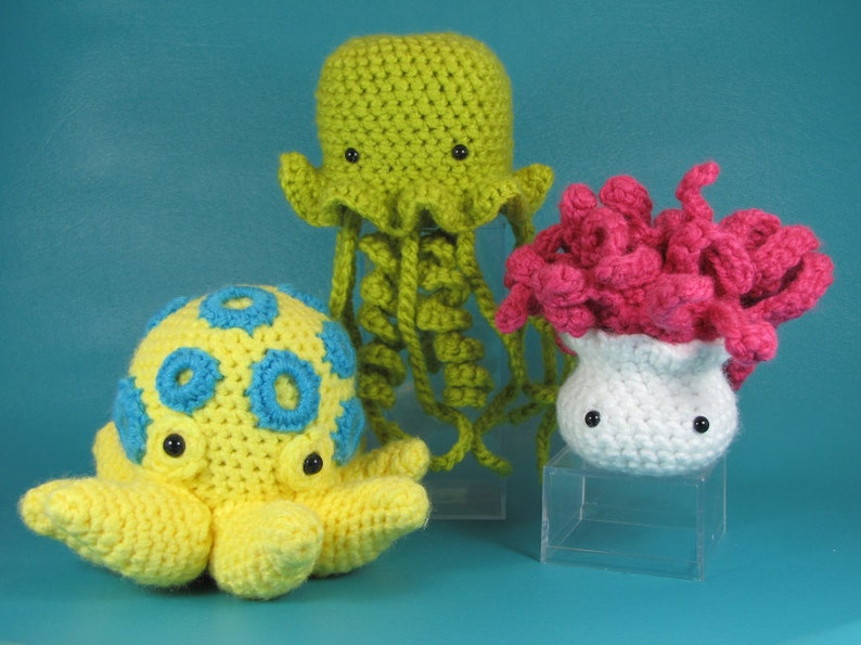Darling But Deadly  PDF amigurumi crochet pattern image 0
