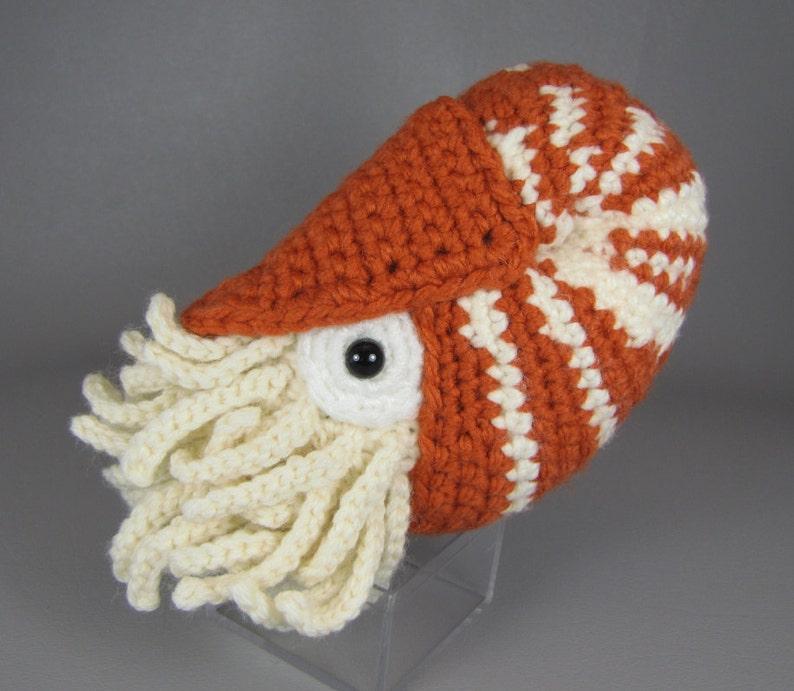 Chambered Nautilus  PDF amigurumi crochet pattern image 0