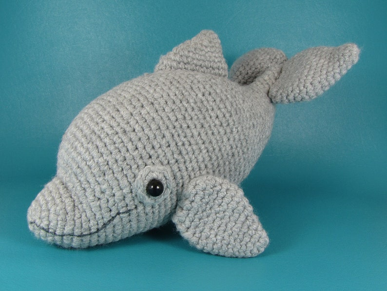 Dolphin  PDF amigurumi crochet pattern image 0