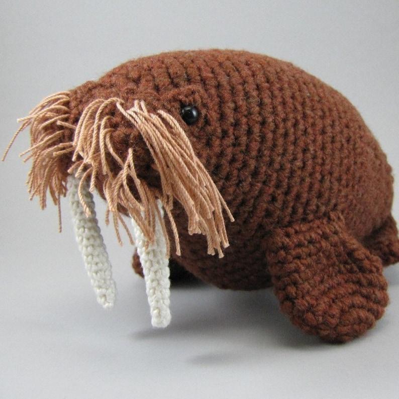 Walrus  PDF amigurumi crochet pattern image 0