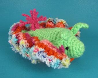 Sea Slug - PDF amigurumi crochet pattern