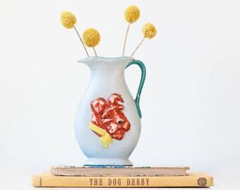 Vintage Dog Vase, Japan