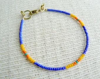 Friendship Bracelet Seed Bead Bracelet