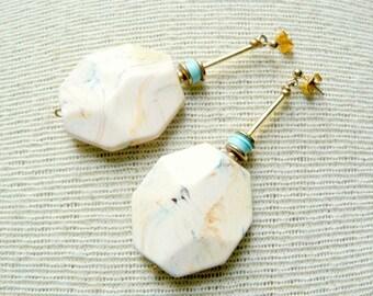 Boho Dangle Statement Earrings- Bohemian Earrings- Georgia