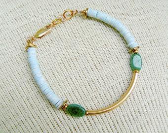 Beaded Boho Bracelet- Acadia