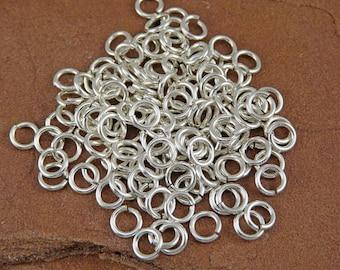 Silver Filled Jump Rings - 150 20 gauge 3.25mm Inner Diameter Jump Rings