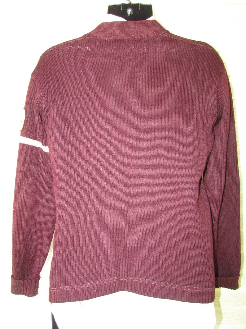 9a8979d52fe Vintage Varsity Letterman Sweater 1949 Men s Champion