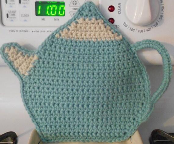 Gehäkelte Tee Kanne Topflappen Teelicht Pot Hot Pad-Tea Pot | Etsy
