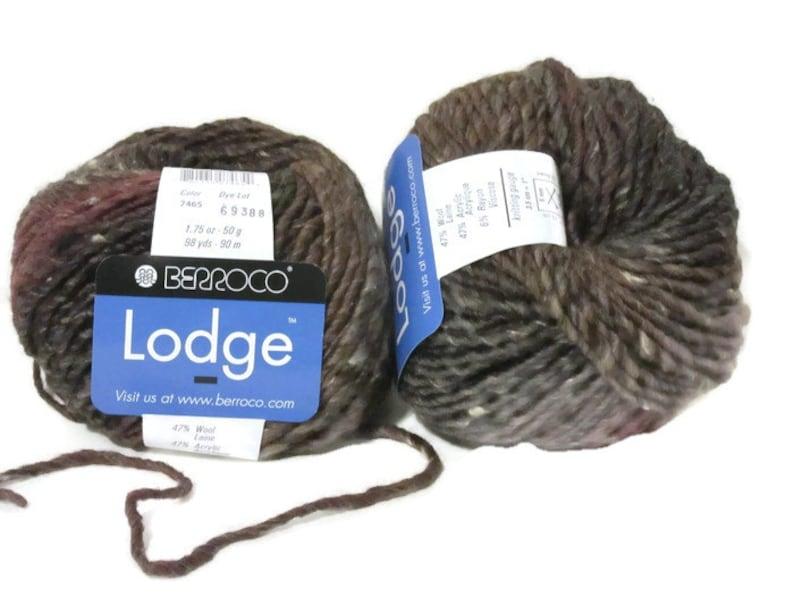 Fiber Arts 7465 Gifts For Her Berroco Lodge Christmas Wool Blend Wool Iron Mountain Yarn Knitting Crochet Women Textiles